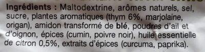 Les papillotes du volailler recette thym citron - Ingredients - fr