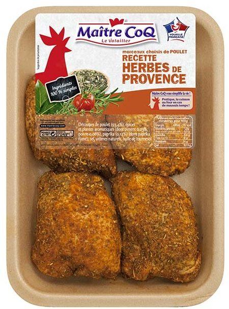 Haut de cuisse de poulet recette herbes de provence - Product - fr