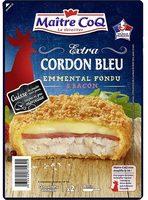 Extra cordon bleu emmental fondu et bacon - Produit