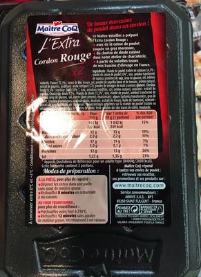 L'Extra Cordon Rouge (x 2) - 1
