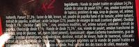 L'Extra Cordon Rouge (x 2) - Ingrédients - fr