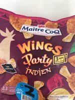 Wings Party Indien - Produit - fr