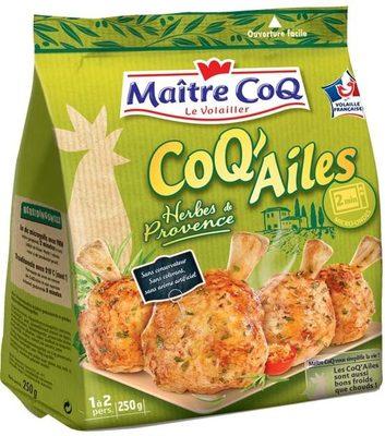 Coq ailes herbes de provence - Produit - fr