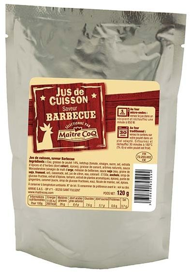 Jus de cuisson saveur Barbecue - Product - fr