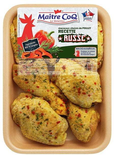 Morceaux choisis de poulet recette russe - Produit - fr