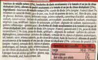 Plateau des supporters Brésil - Ingrediënten - fr