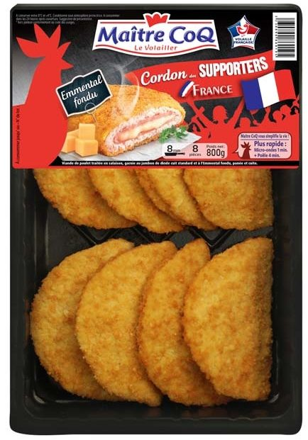 Cordon des supporters France (emmental fondu) - Product