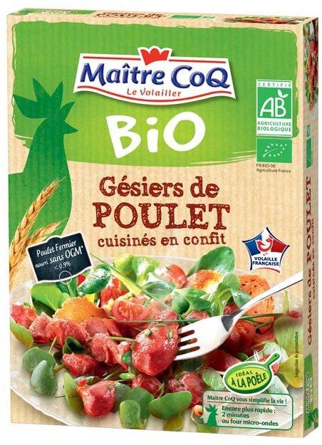 Gésiers de poulet cuisinés en confit bio - Product - fr