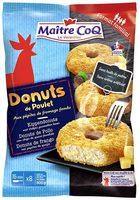 Donuts de poulet aux pépites de fromage fondu - Produit - fr