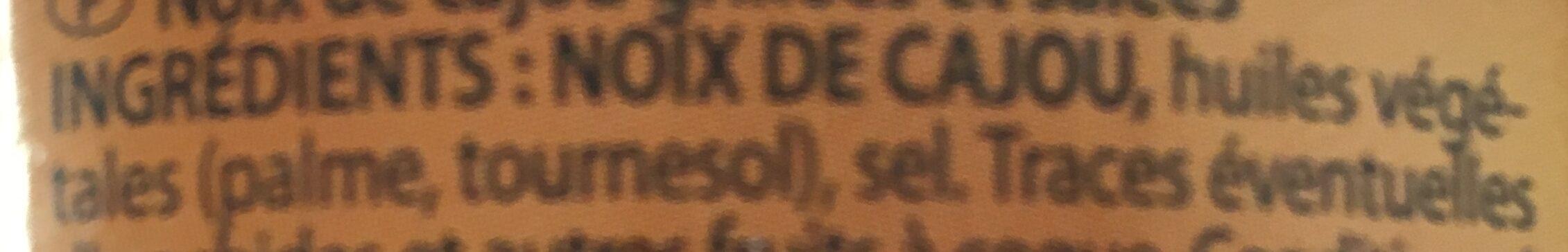 Noix De Cajou, 150g - Ingrédients - fr