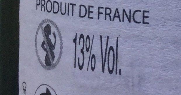 Valréas Cuvée Prestige - Nutrition facts - fr