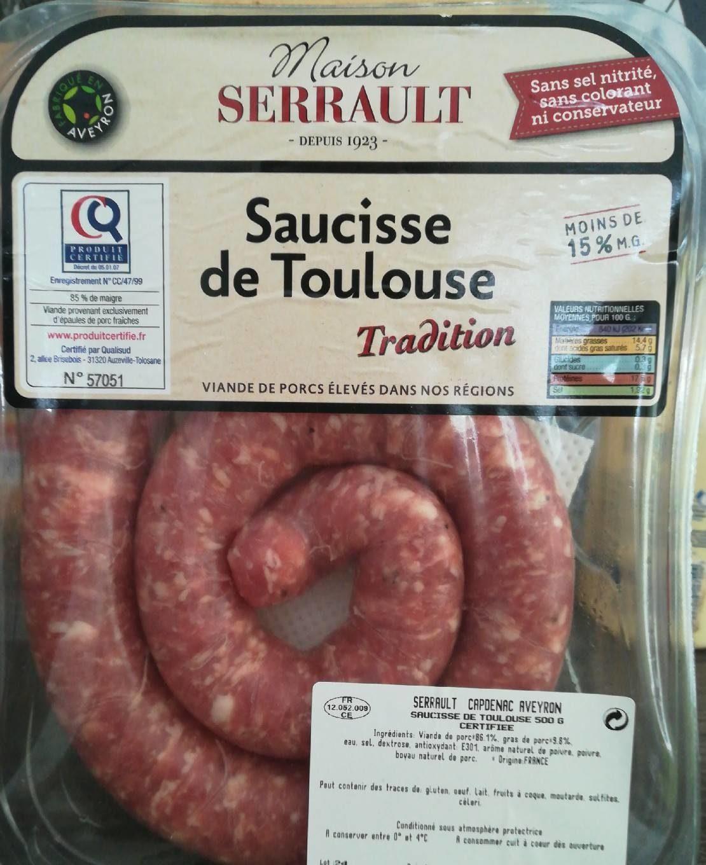 Saucisse de Toulouse - Product - fr