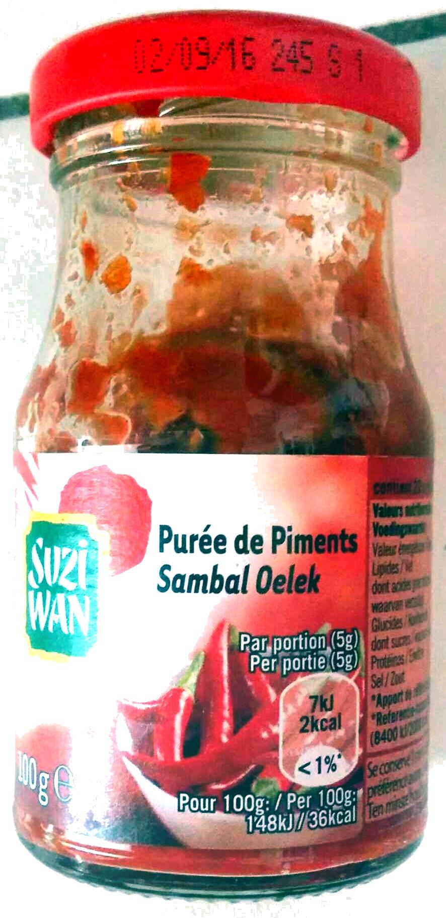 Salsa di peperoncini - Product - fr