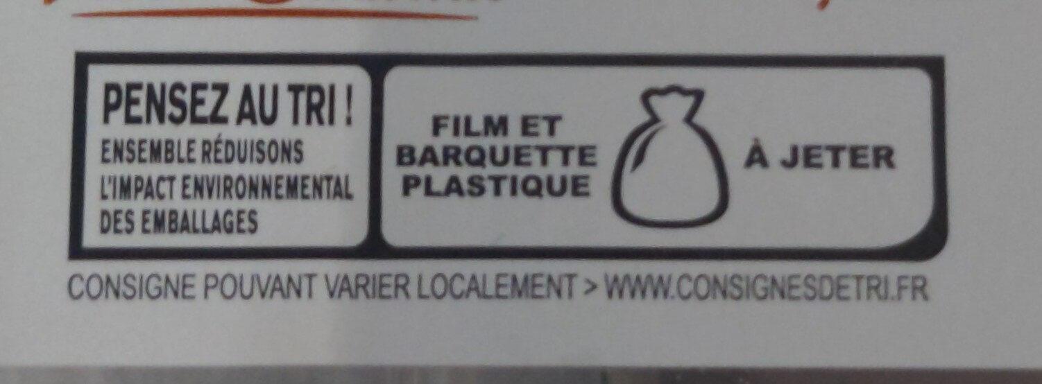 Flam'Fine - Instruction de recyclage et/ou informations d'emballage - fr