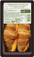 Croissant au poulet et cheddar - Produit - fr