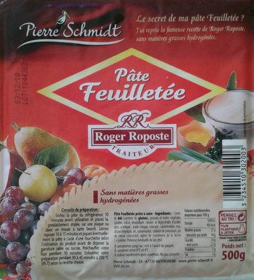 Pate feuilletee ROGER ROPOSTE, bloc de - Produit - fr