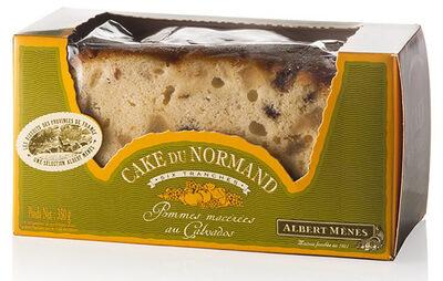 Cake du Normand Tranché aux Pommes macérées au Calvados - Produit - fr