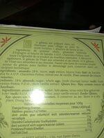 Gâteau de Visan en Provence aux Amandes - Ingrédients - fr