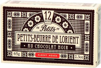 Petits-Beurre de Lorient au Sel de Guérande au Chocolat Noir - Produit - fr