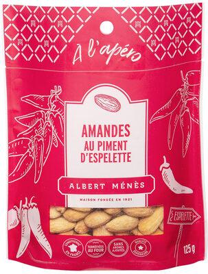 Amandes au piment d'espelette - Produit - fr
