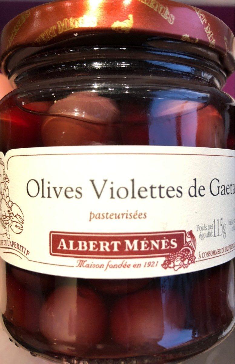 Olives Violettes de Gaeta , 115g - Product