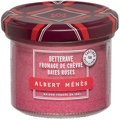 Crème de Betterave au Chèvre et aux Baies Roses - Produit