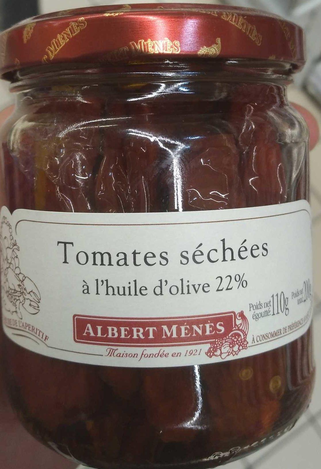 Tomates séchées à l'huile d'olive - Produit