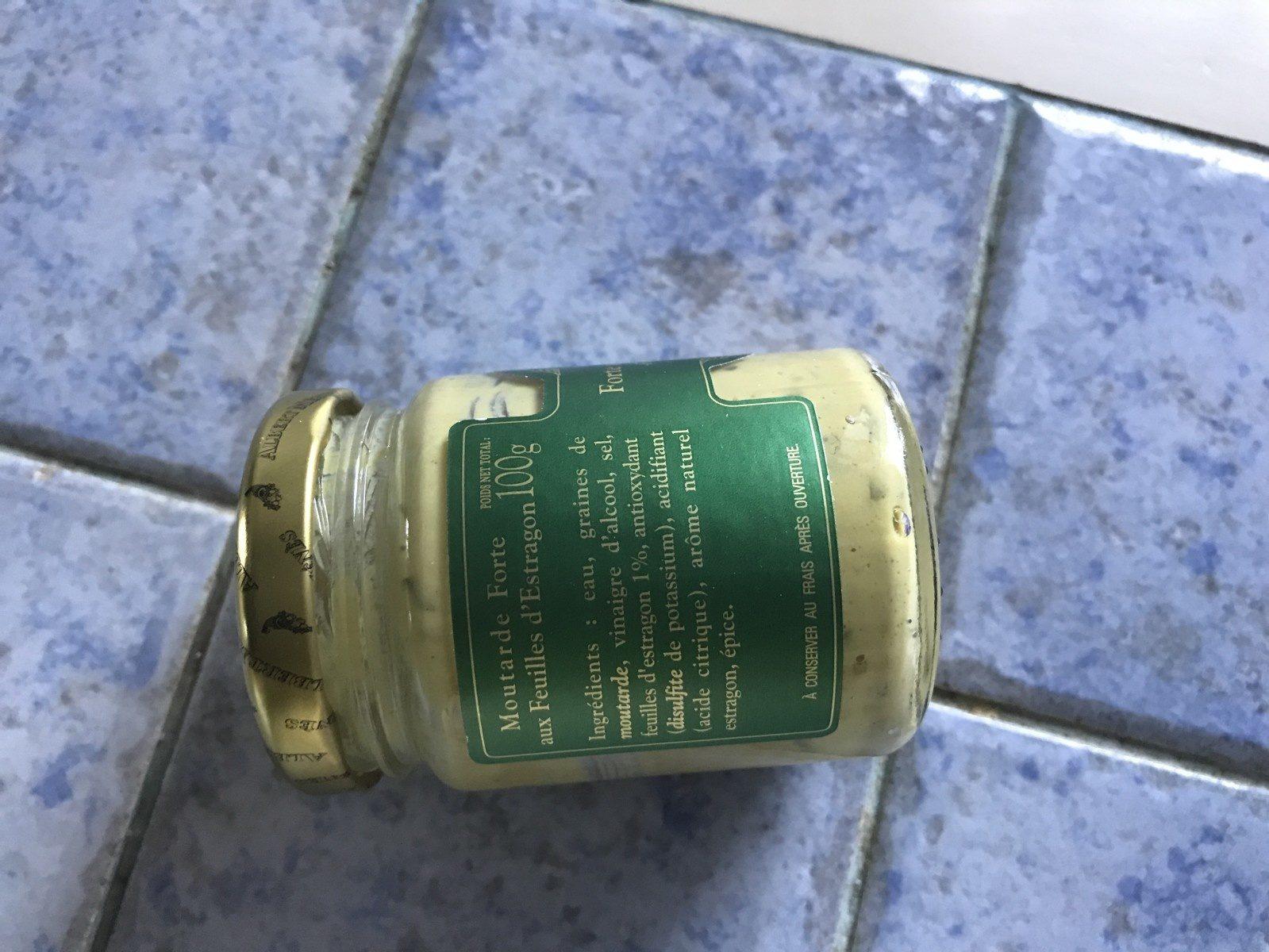 Moutarde Forte aux Feuilles d'Estragon - Ingrédients - fr