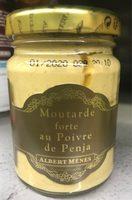 Moutarde forte au Poivre de penja - Produit - fr