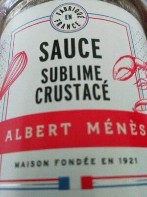Sauce Sublime aux Crustacés - Produit