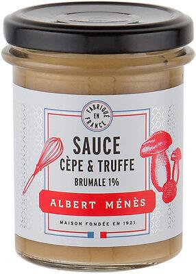 Sauce aux Cèpes et Truffe Brumale 1% - Produit