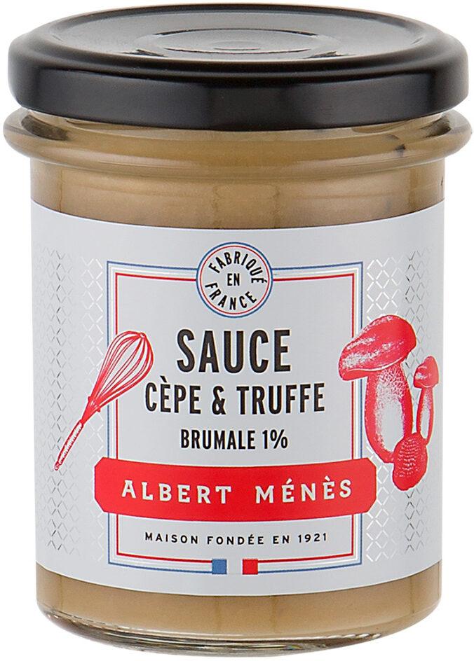 Sauce aux Cèpes et Truffe Brumale 1% - Produit - fr