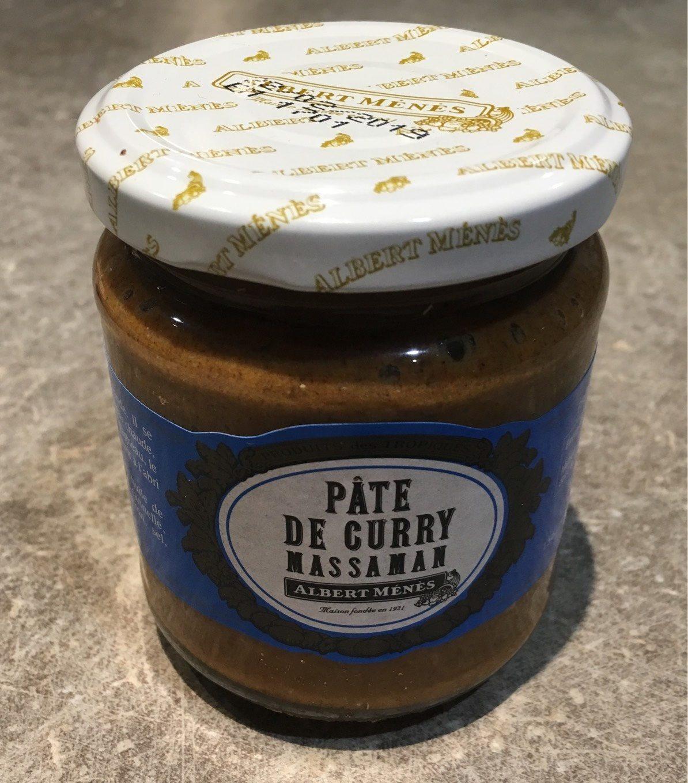 Pâte de Curry Massaman - Produit