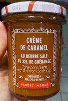 Crème De Caramel Au Beurre Salé Au Sel De Guérande - Produit - fr