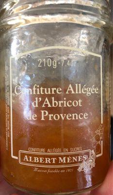 Confiture Allégée D'abricot De Provence - Produit