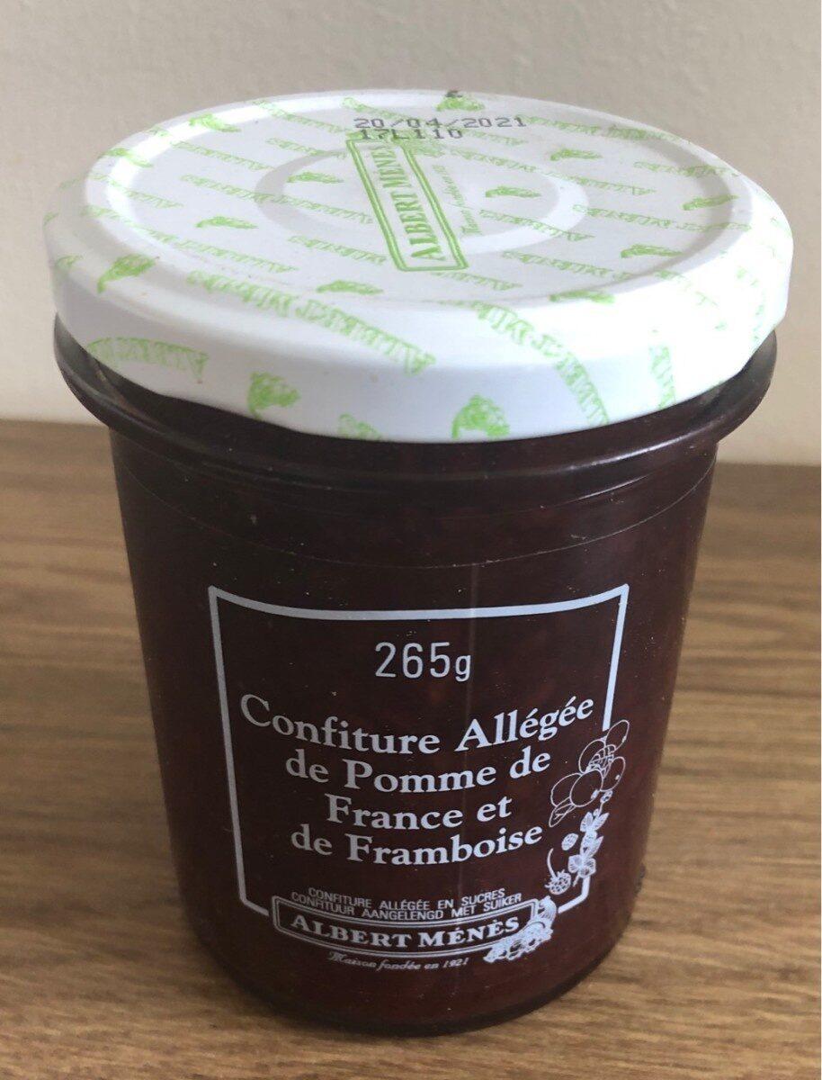 Confiture Allégée de Pomme de France et de Framboise - Product - fr