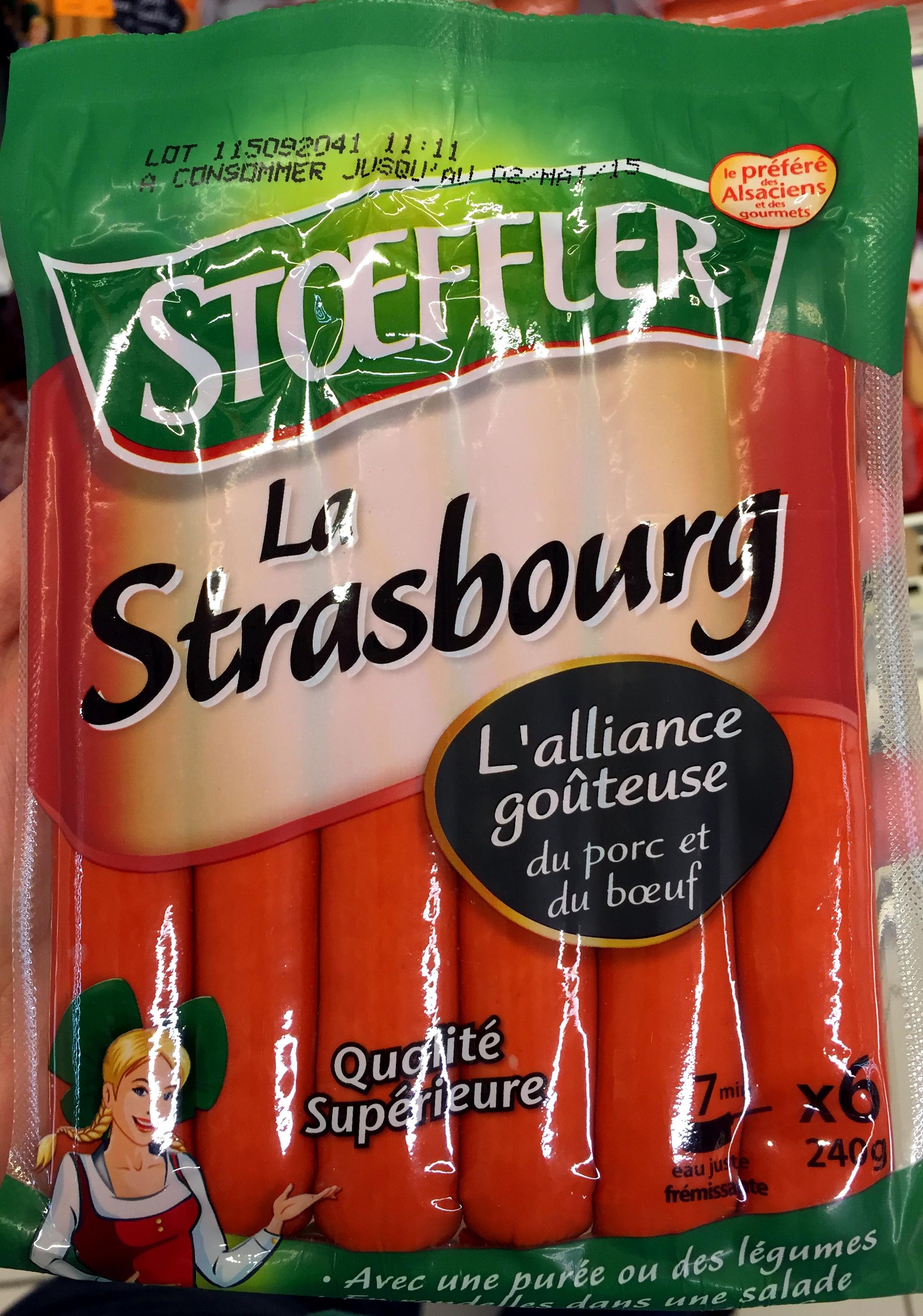 La Strasbourg - Produit