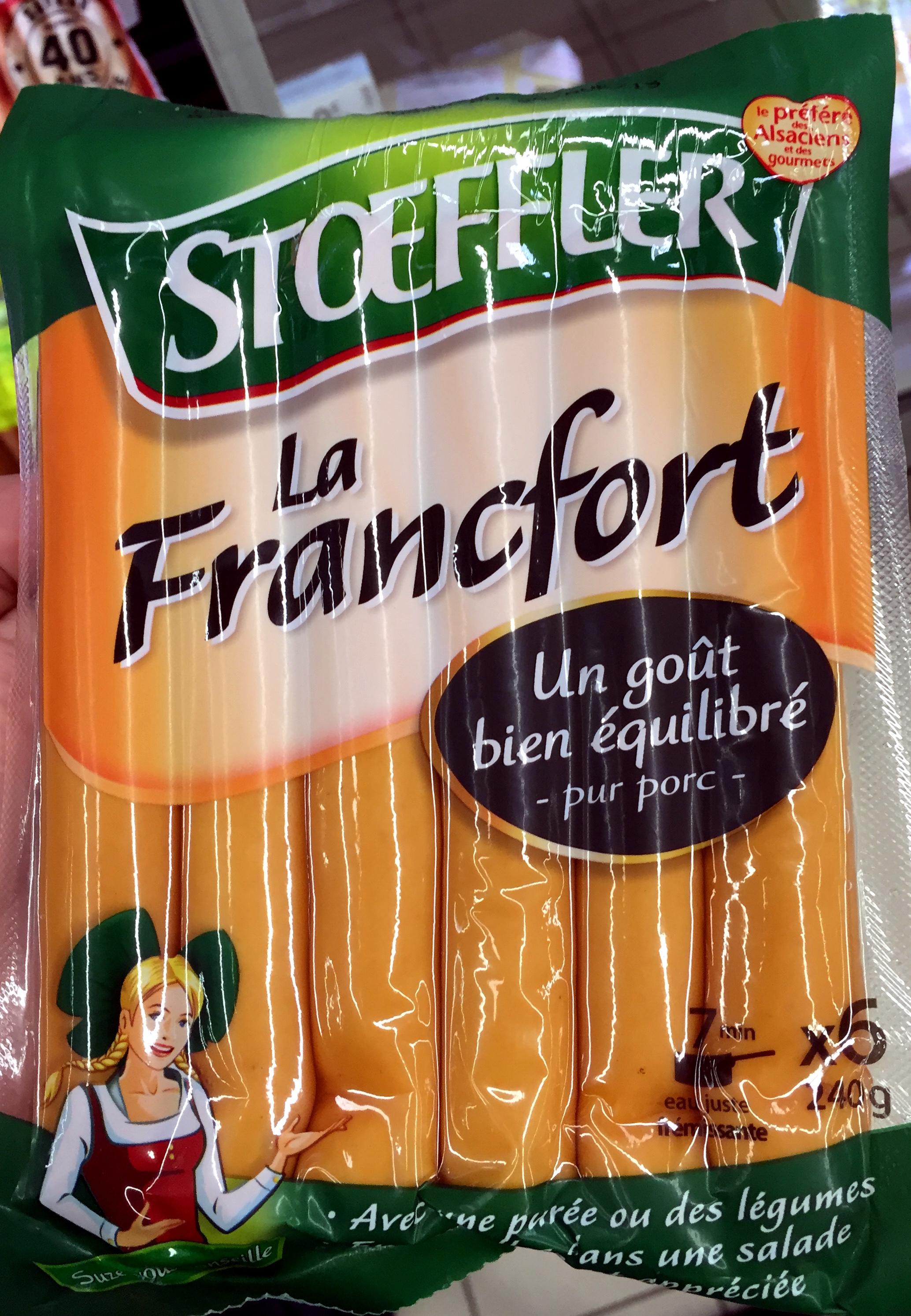La Francfort - Produit