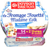 Le Fromage Fouetté Madame Loïk, Nature au sel de Guérande (24 % MG)  - Produit