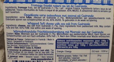 madame Loïk - Ingredients