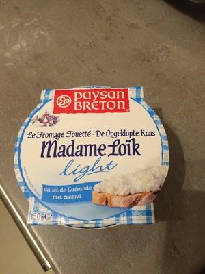 Fromage fouetté nature au sel de Guérande - 1