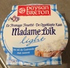 Le Fromage Fouetté Madame Loïk Light au sel de Guérande (15% MG) - Product
