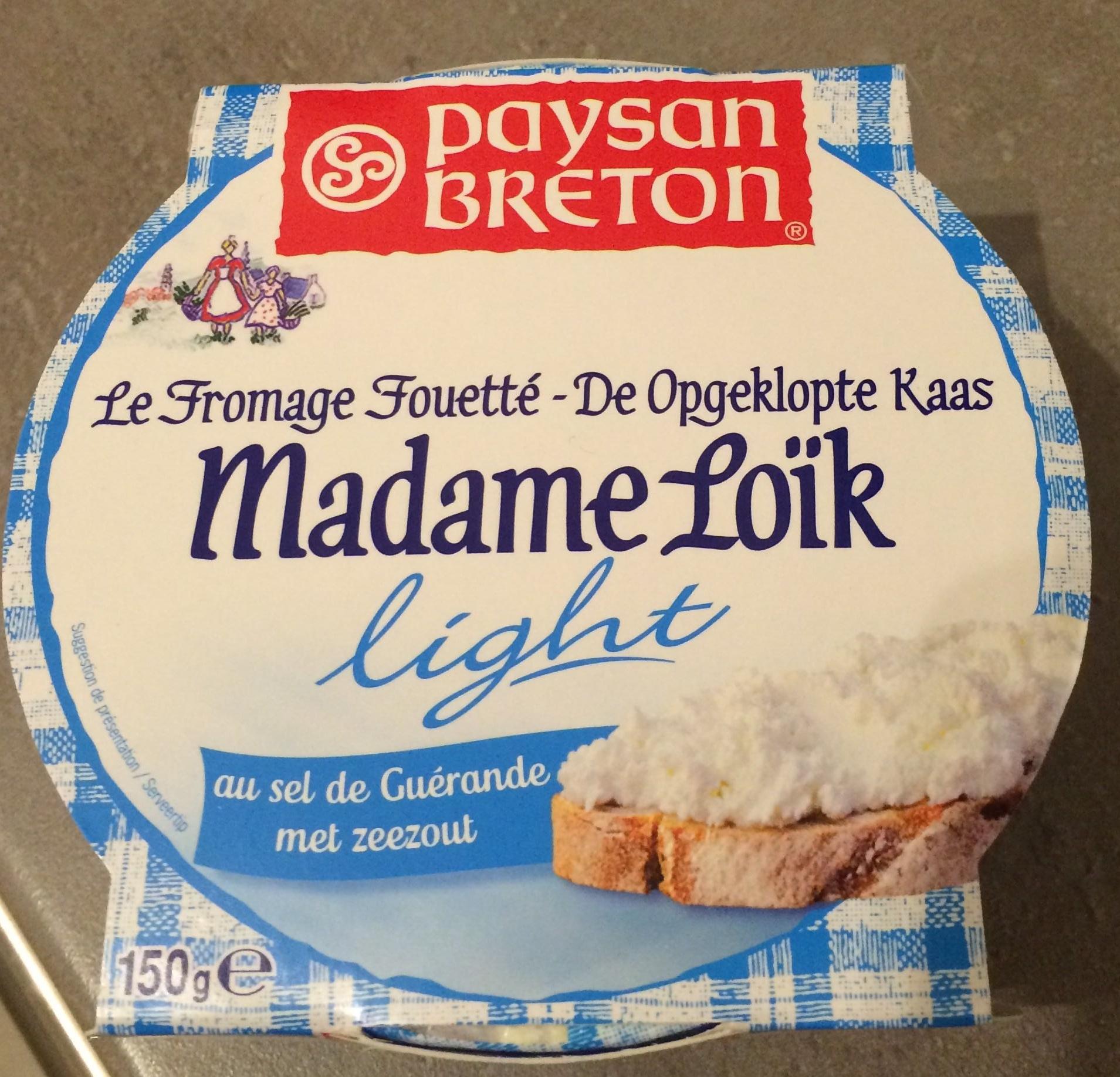 Fromage fouetté nature au sel de Guérande - Produit - fr