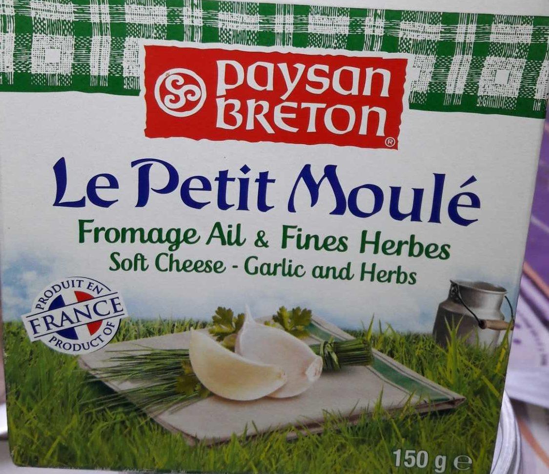 Petit Moulé Ail & Fines herbes - Produit - fr