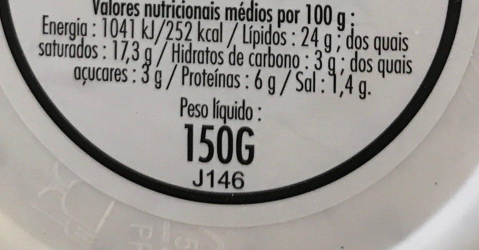 Petit Moulé Ail & Fines herbes - Informations nutritionnelles - fr