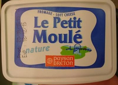Fromage Le Petit Moulé Nature - Produit