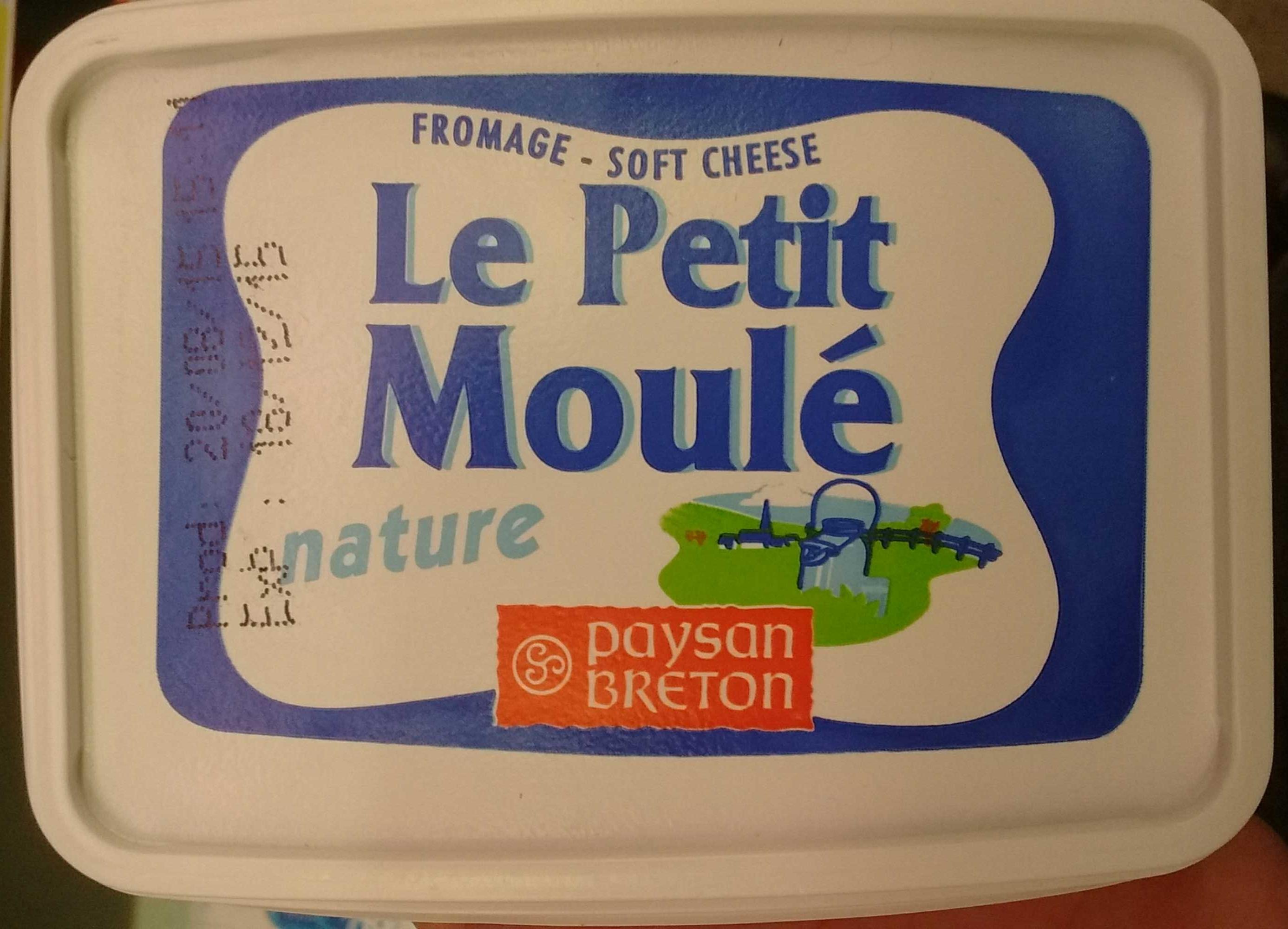 Fromage Le Petit Moulé Nature - Produit - fr