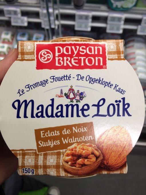 Madame Loïk éclats de noix - Produit - fr