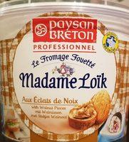 Fromage Fouetté Aux Noix Madame Loïk - Product - fr