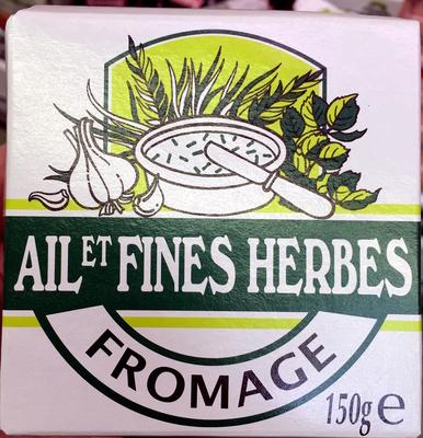 Fromage Ail et Fines Herbes (24 % MG) - Produit - fr
